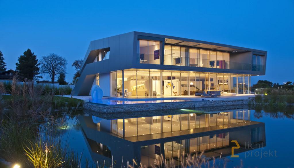 Lichtprojekt Beleuchtung Villa M