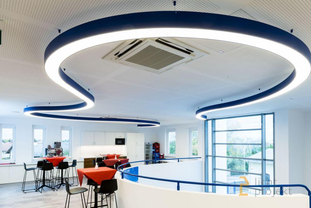 Lichtprojekt LED Beleuchtung Industrie HL08