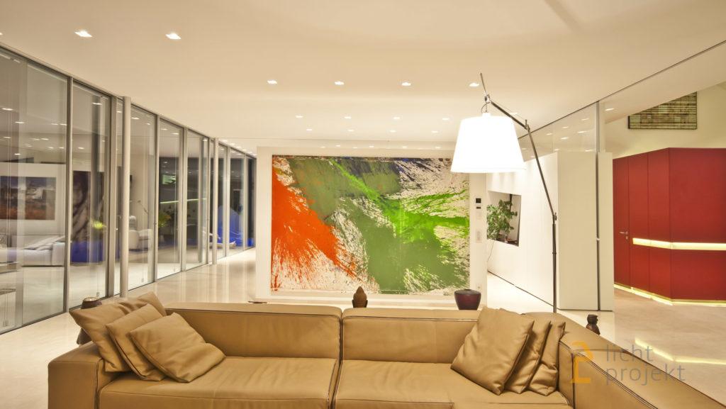 Lichtprojekt LED Beleuchtung Villa M013