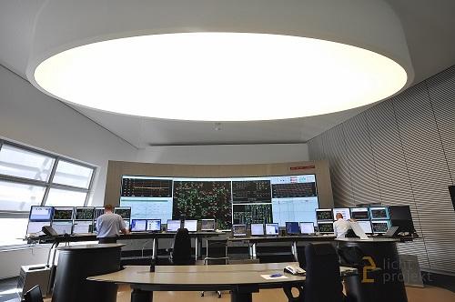 Lichtprojekt Lichtdecke 2 LED Beleuchtung